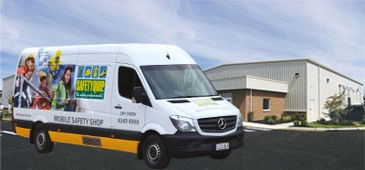 SQ Van with Industrial Shop