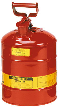 Safety Can - Flammable Liquids Storage Justrite - 7.6 Litre