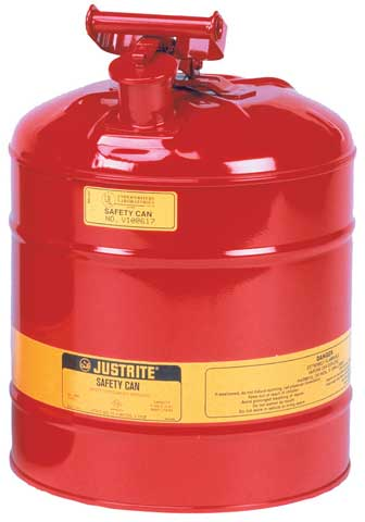 Safety Can - Flammable Liquids Storage Justrite - 19.0 Litre