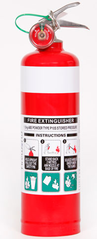Fire Extinguisher - Fireworld Dry Chemical 1.0kg - ABE