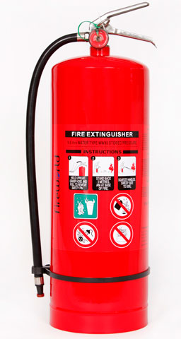 Fire Extinguisher - Fireworld Air/Water 9.1L - A (Charged)