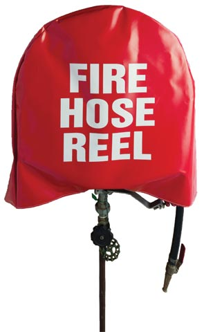 Hose Reel Cover - PVC SpillSmart Suits Most Hose Reels - Red