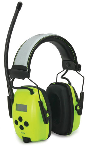 Earmuff - Headband Howard Leight Sync AM/FM Radio HI VIS Digital Tuning (CL 5 - 26dB)