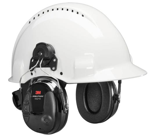 Earmuff - Peltor Cap Attachable ProTac III Slim Level Dependent MT13H220P3E Headset (CL5 - 30dB)