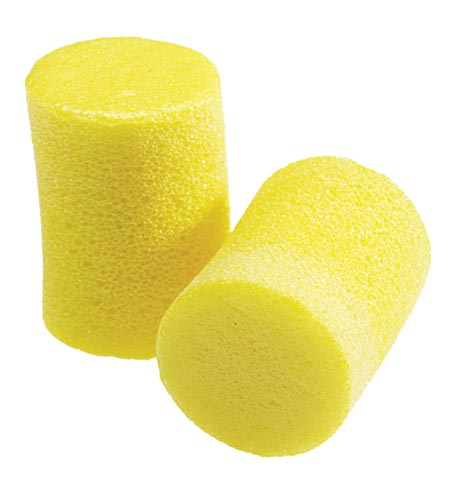 Earplug - Disposable EAR Classic 312-1201 Barrel Uncorded Yellow (CL4 - 23dB)