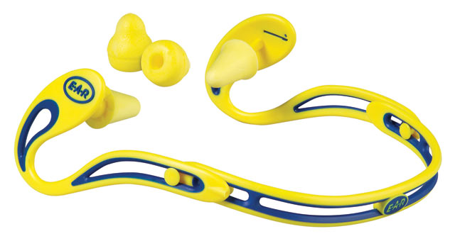 Earplug on Band - Reusable EAR Swerve (CL 3 - 20dB/Class 4 - 23dB)