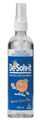 Cleaner - Solvent 'De-Sov-It' Multi Purpose Water Rinseable - 300ML Pump Spray