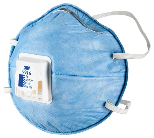 Respirator - Disposable 3M Acid Gas P1 Valved