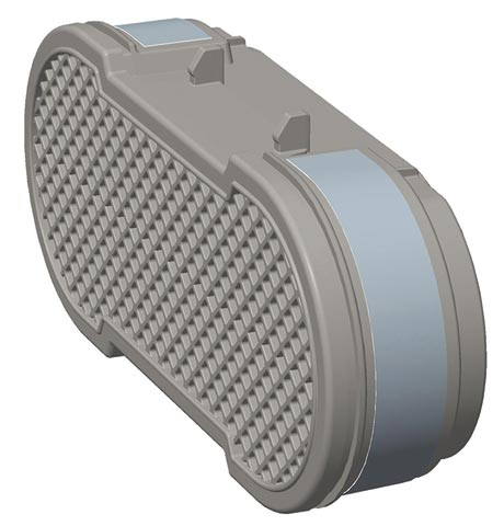 Filter - Particulate P3 HEPA CleanSpace2 PAPR Hi Capacity