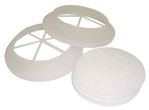 PreFilter Kit- Scott for Profile2/Promask Twin Respirator PreFilters c/w 2 Holders & 6 Prefilters)