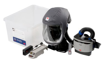 Respirator Kit - Headcover PAPR 3M Versaflo S-333 c/w Versaflo Turbo/Hose/Charger & P3 Filter