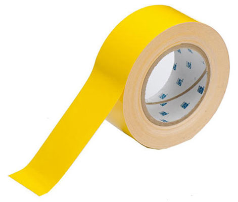 Tape - Polyester Indoor Floor Marking Toughstripe 51mm x 30M - Yellow