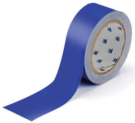 Tape - Polyester Indoor Floor Marking Toughstripe 51mm x 30M - Blue