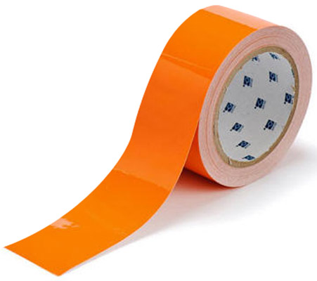Tape - Polyester Indoor Floor Marking Toughstripe 51mm x 30M - Orange