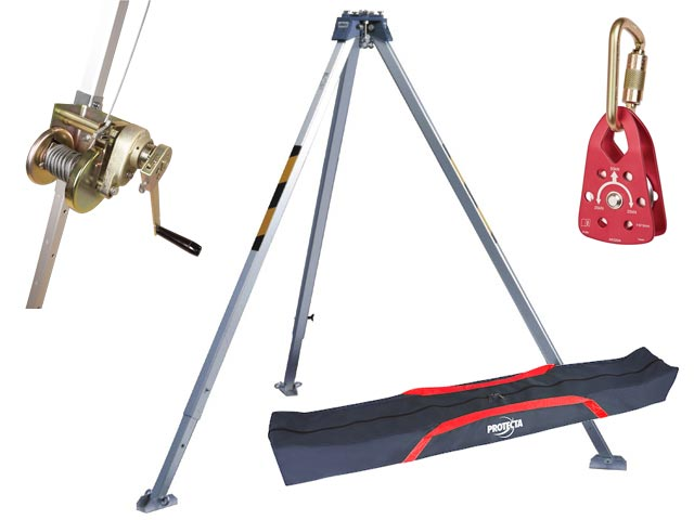 Kit - Protecta Confined Space c/w AM100 Tripod, AT200/I20/P Winch & Bag