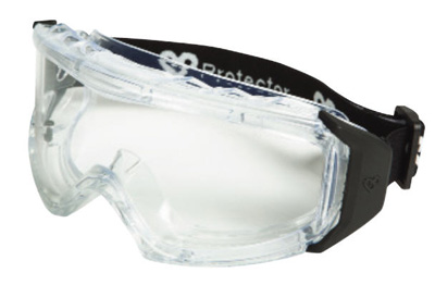 Goggle - Clear Scott Neutron GP MI HC/AF Lens Smoke PVC Frame Indirect Vented