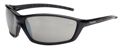 Spectacle - Silver Flash Bolle Prowler Black Frame