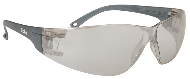 Spectacle - Mirror Clear Unisafe Ecko HC Lens