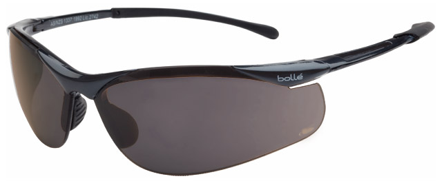 Spectacle - Polarised Grey Bolle Sidewinder Gunmetal Frame