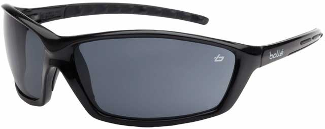Spectacle - Smoke Bolle Prowler ALS Lens Black Frame