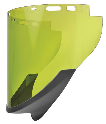 Visor - Light Green Elliott Elvex ArcSafe ArcFit c/w Chin Guard