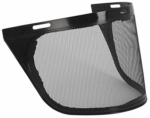 Visor - Mesh Metal Unisafe Aluminium 150mm x 385mm Suits HCX500 Holder