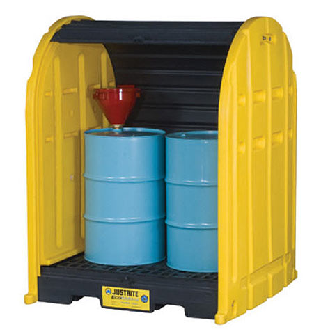 Drum Shed - EcoPolyBlend 2 Drum 254L Capacity
