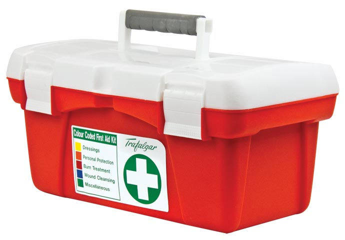 First Aid Kit - Workplace WP1 National COP Portable Trafalgar Polyprop Case 420 x 200 x 230mm