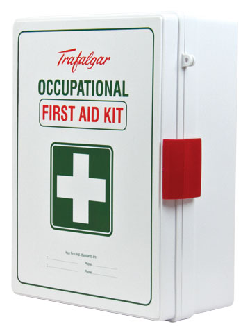 First Aid Kit - Workplace WM1 National COP Wall Mount Trafalgar ABS Case 300 x 390 x 115mm