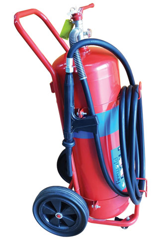 Fire Extinguisher - Mobile Fireworld Dry Chemical 100kg - ABE