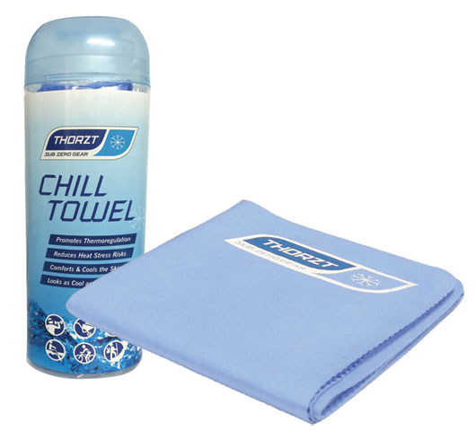 Towel - Cooling Thorzt Chill Towel - Blue