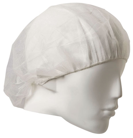 """Medicap - Disposable PP Pro-Choice Bouffant Round 21"""" - White"""