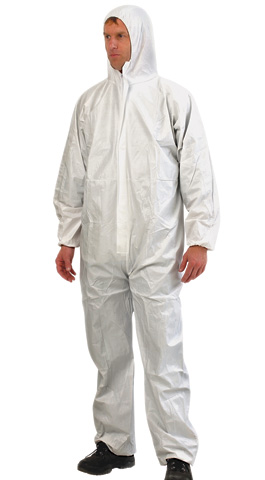 Overall - Disposable Provek ProChoice PP Type 5/6 White - 4XL