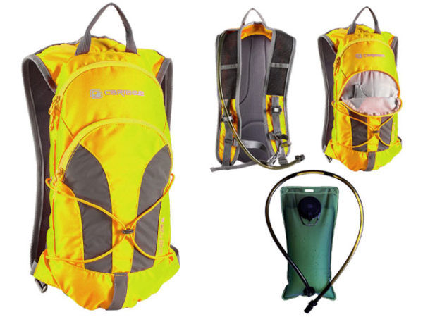 Back Pack - Hydration Caribee Stinger 2L - HI VIS Yellow