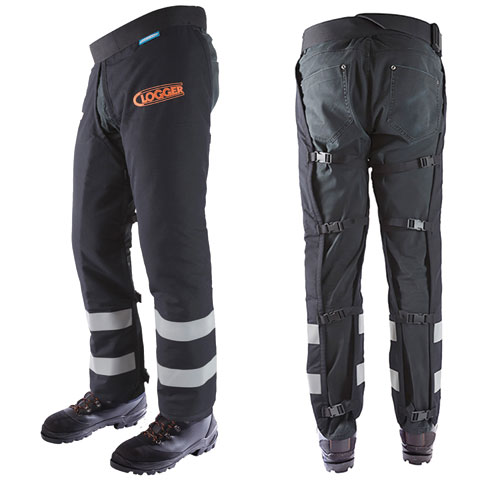 Chaps - Chainsaw Clogger Arcmax Fire Resistant c/w Zip Fastening - L