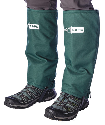 Leggings - SnakeSafe Clogger Snake Chaps/Gaiters Zipped  - XL
