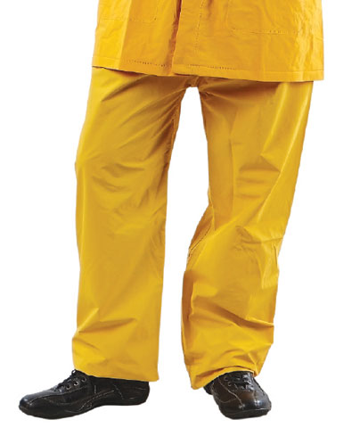 Trousers - PVC ProChoice Waterproof Elastic Waist Yellow - 4XL
