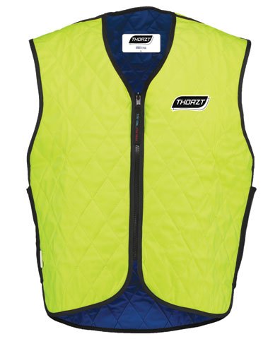 Vest - Body Cooling Thorzt HyperKewl Plus Evaporative High Viz Vest Yellow - 3XL