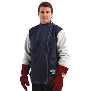 Jacket - Welders Pyromate Pyrovatex Drill Velcro Front Kevlar Stitched - 3XL