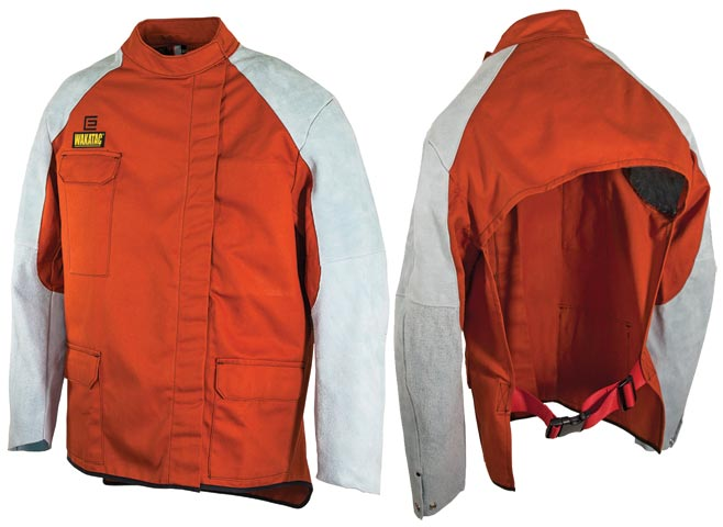 Jacket - Welders Proban Elliott Wakatac Quarter Back 762mm Length c/w Leather Sleeves - 4XL
