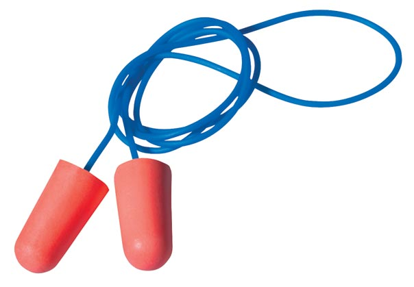 Earplug - Disposable Howard Leight X-treme Tapered (CL5 - 26dB) - Corded Red (BX/100pr)