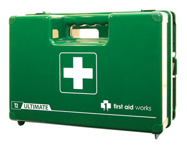 First Aid Kit - T2 First Aid Works Ultimate Modular Hard Case c/w 4 modules 340 x 260 x 150mm