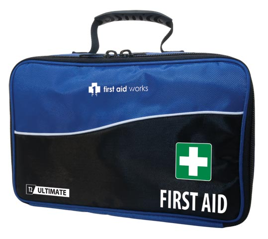 First Aid Kit - T2 First Aid Works Ultimate Modular Soft Case c/w 4 modules