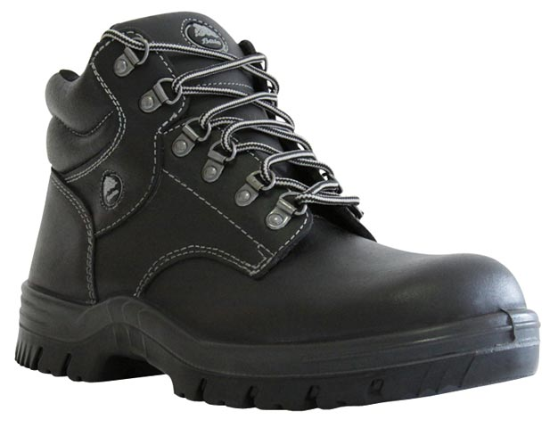 Boot - Safety Mens Bata Saturn 705-60510 Ankle Lace Up Padded Collar DD PU Sole Black - 13