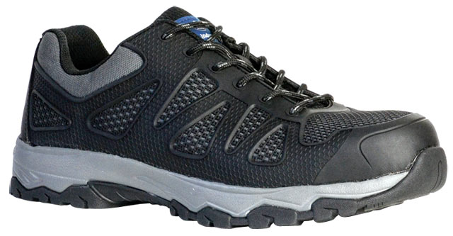 Shoe - Safety Mens Bata Sportsmate Force 853-66686 Lace Up KPU/Mesh Jogger EVA/Rubber Sole Black - 13