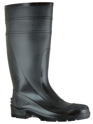 Gumboot - Non-Safety Mens Bata Utility 400 892-66380 PVC Knee Boot 400mm Black - 13