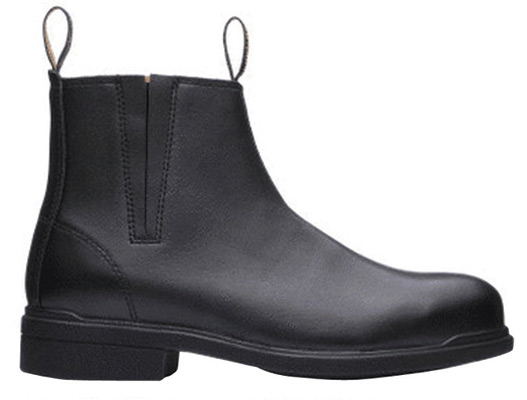 Boot - Zip Side Safety Executive Blundstone Full Grain Leather TPU/Rubber Sole Black - 13