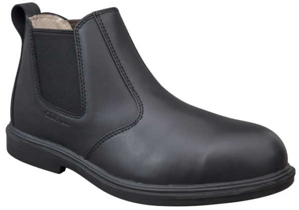 Boot - Pull On Safety Oliver Executive Soft Touch Full Grain Leather DDPU Sole Water Resistant Black - 13