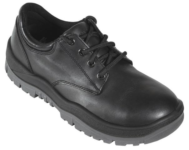 Shoe - Safety Mongrel 210025 Full Grain Lace-Up DD TPU Sole Black - 14
