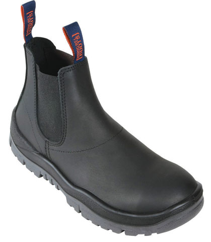 Boot - Safety Mongrel Kip Elastic Sided DD TPU Sole Black - 14